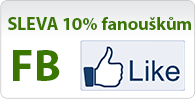 Získejte slevu 10% pro fanoušky na FB